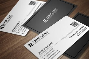Minimal Business Card CM172