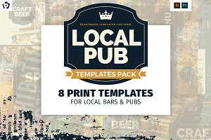 Local Pub Templates Pack