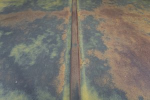 Old Truck Hood Patina