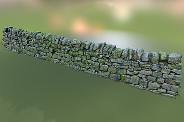 3D Urban: Beatheart Creative Studio - Stone Wall
