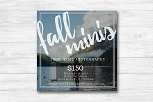 Photographer Fall Mini Sessions