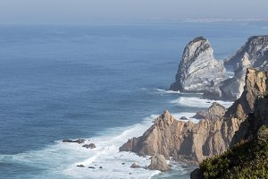 In the cape of Roca in Lisbon