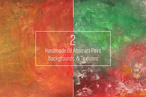 Handmade Abstract paint backgrounds