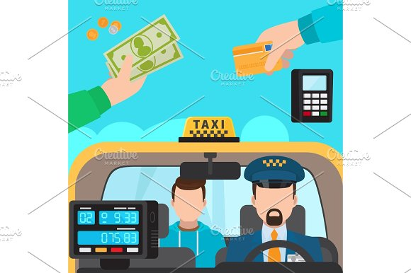 Inside Taxi Payment Methods