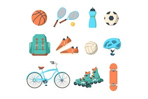 Summer outdoor activities sport