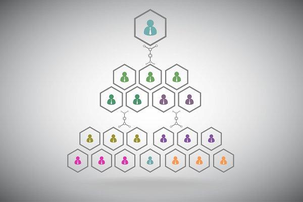 Management pyramid