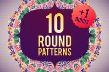 10 ROUND PATTERNS+1 BONUS