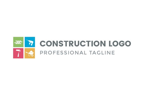 construction logo logo templates creative daddy