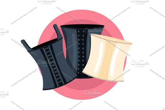 Elegant retro corsets collection