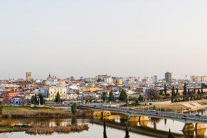 Panoramic view of Badajoz