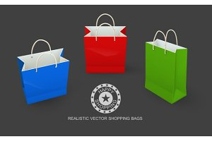 Shopping bags paper packaging for goods