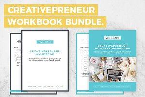 BUNDLE! Creativepreneur Workbooks