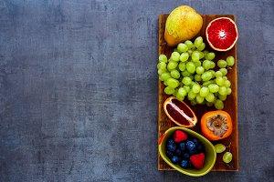 Various fruit selection