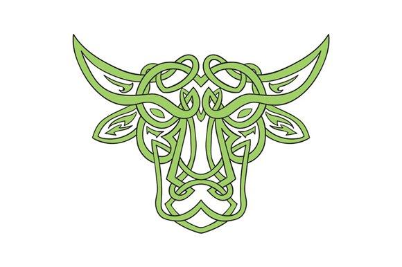 Taurus Bull Celtic Knot