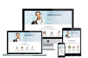 LT Anicare Onepage-Health Joomla