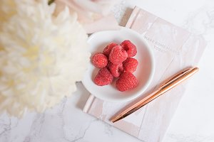 Raspberry Blush Desktop