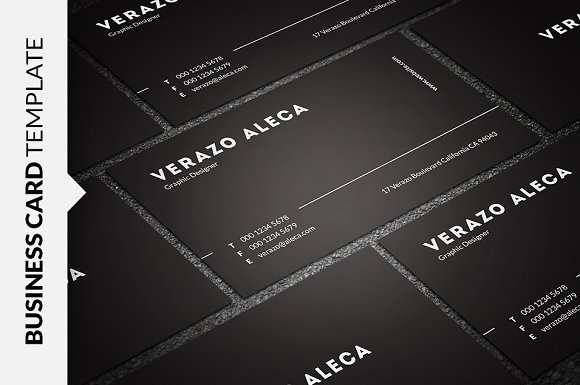 Clean minimal business card business card templates creative market reheart Image collections