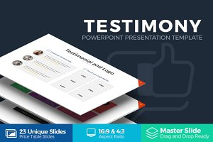 Testimony Powerpoint Template