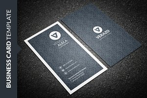 Clean Elegant Vertical Business Card
