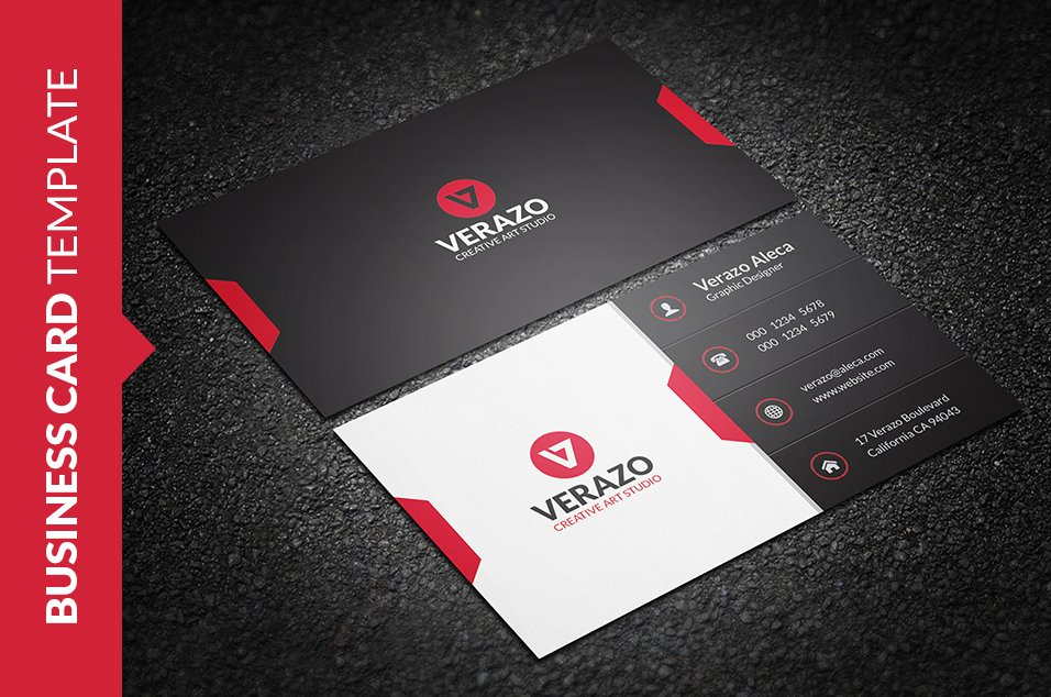 Stylish Business Card Template ~ Business Card Templates ~ Creative ...
