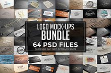 64 Logo Mock-ups Bundle
