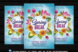 Spring Break Flyer