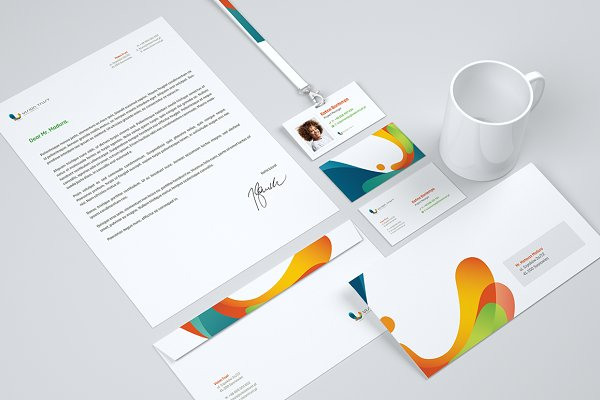 Mockup corporate identity