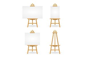 Wooden Easel or Painter Desk.