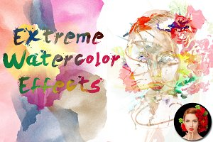 Extreme Watecolor Actions