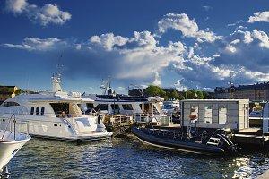 Embankment of Stockholm