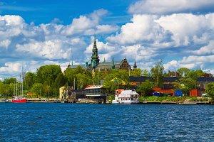 Stockholm city view - Djurgarden