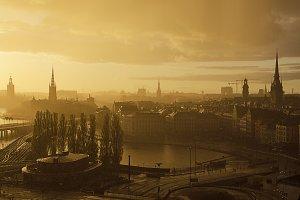 Stockholm sunset