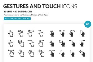 Gestures and Touch Icons