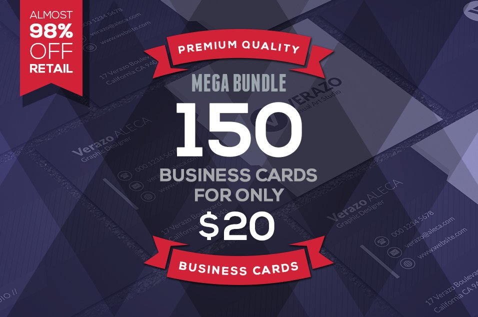 150 mega business cards bundle business card templates creative 150 mega business cards bundle business card templates creative market reheart Gallery
