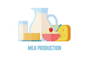 Traditional Dairy Products from Milk