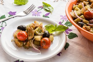 panzanella appetizer