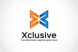 Xclusive Logo Template