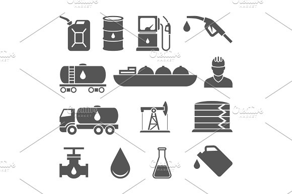 Oil And Petroleum Icon