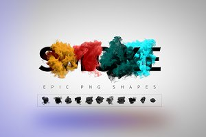 Smoke PNG Shapes