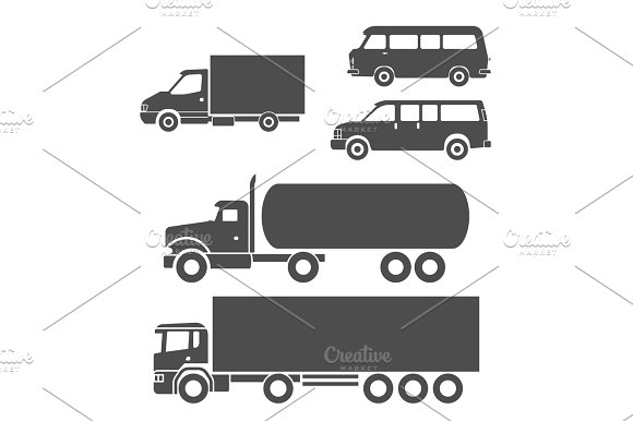 Trucks Icons