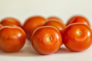 Juicy red tomatoes