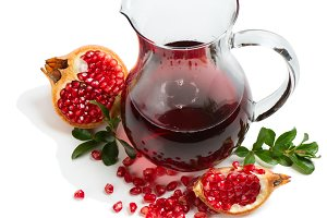 Juice of pomegranate