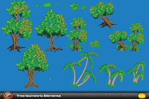 Tree Isometric Elements