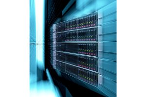 supercomputer disk storage in modern data center