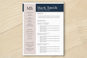 Resume Template - MS Word