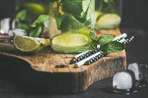 Fruit and herbs infused sassi water