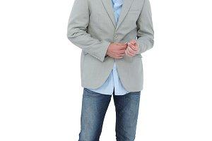Suave man in a blazer