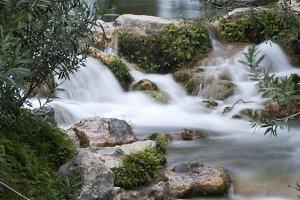 Sources of the river Algar
