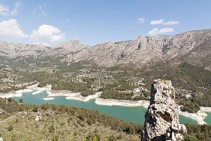 Reservoir Guadalest