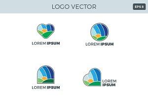 Valley Logo Vector